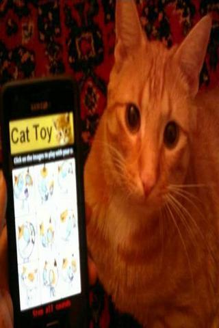 Jouet pour chat– Capture d'écran