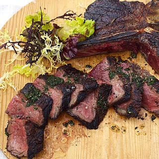 Rib-Eye, T-Bone, and Strip Steaks Cut Over One Inch