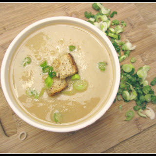 Garlic and Potato Soup.