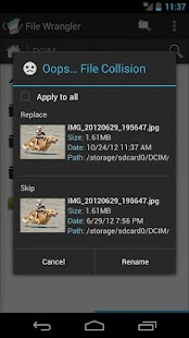 File Wrangler- screenshot thumbnail