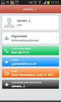 Screenshot of Address Book