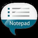 Notepad Voice Memo Lite logo