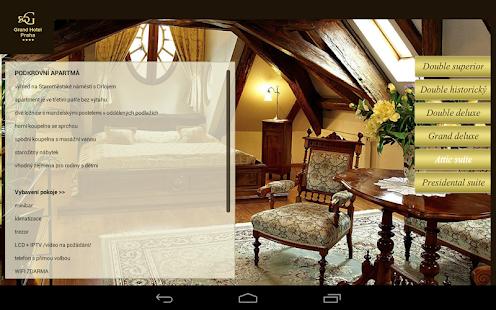 Grand hotel Praha - screenshot thumbnail