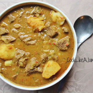 Jamaican Curry Beef