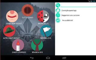 Screenshot of Canzoniere scout