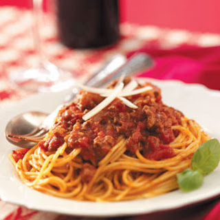 Stamp-of-Approval Spaghetti Sauce.