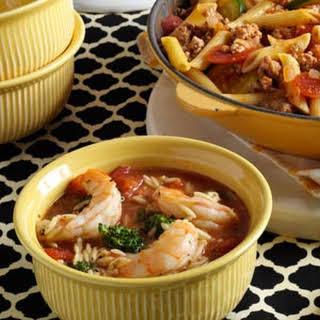 Orzo Shrimp Stew.