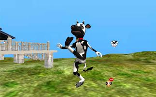 Screenshot of Dancing Cow