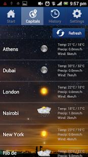 Weather Master screenshot