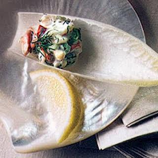 Lobster Salad on Endive Spears.