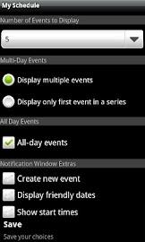 My Schedule Screenshot 5