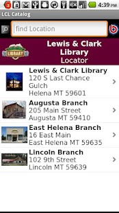 Lewis & Clark Library Catalog - screenshot thumbnail