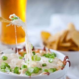 Roasted Garlic & Parmesan Beer Cheese Dip