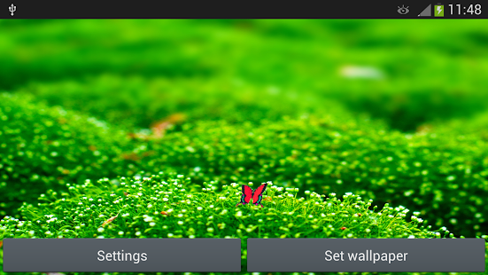 Green Live Wallpaper - screenshot thumbnail