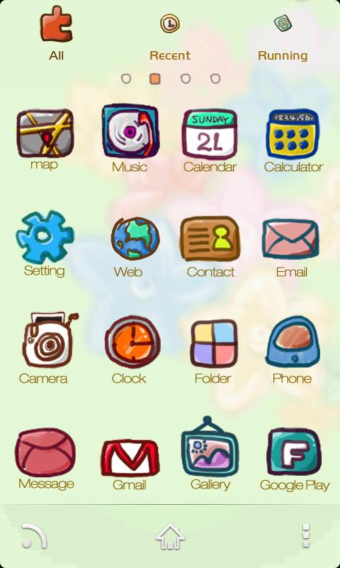 ZLOTUSboy GO Holistic Theme - screenshot