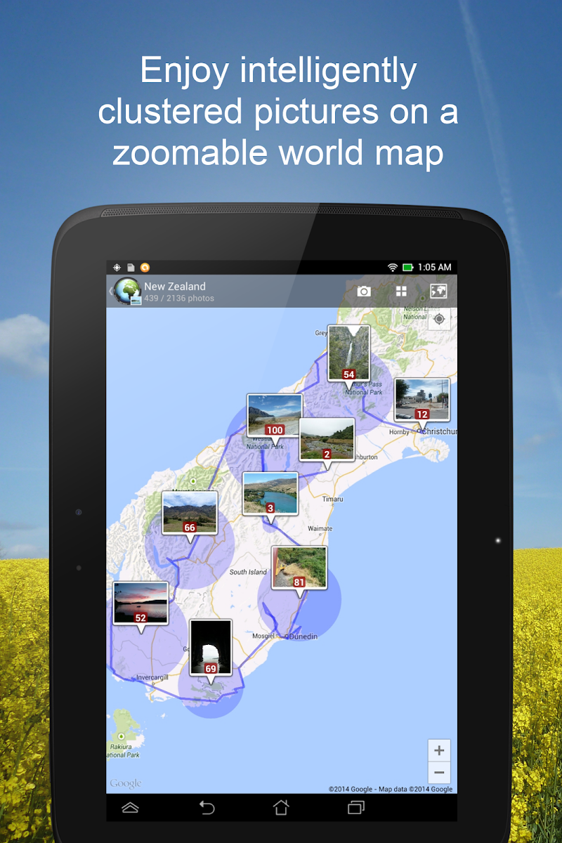 PhotoMap Gallery - Photos, Videos and Trips Screenshot 8