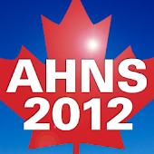 AHNS 2012