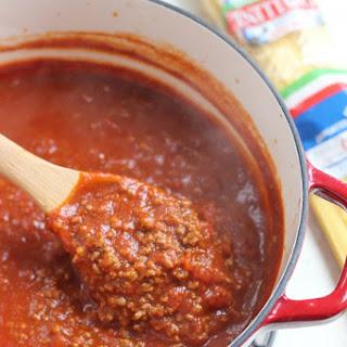 Grandma Carolyn's Spaghetti Sauce.