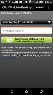 CU of Colorado Mobile Banking- screenshot thumbnail