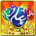Monster Marble Blast:Egyption icon