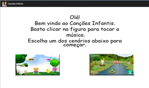 Children's songs in Inglês