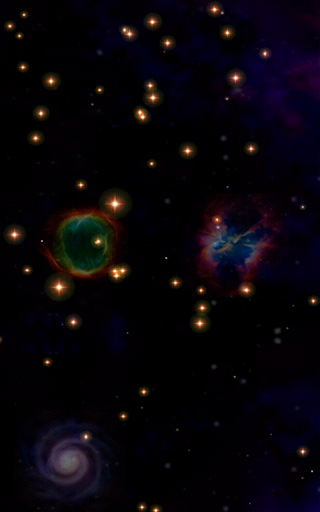 Cosmic Voyage Music Visualizer