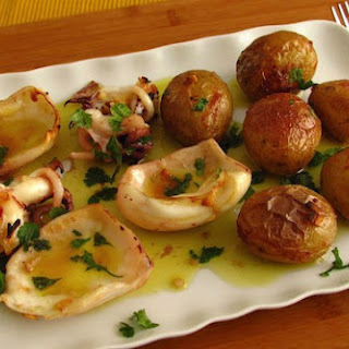 Cuttlefish 'à Lagareiro' (cuttlefish With Potatoes Drizzled With Olive Oil)