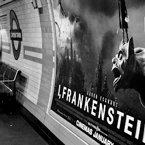 Behind You! by Michael Summers - People Street & Candids ( cadid, i frankenstein, station, street, underground )