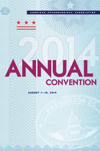 APA 2014 Convention