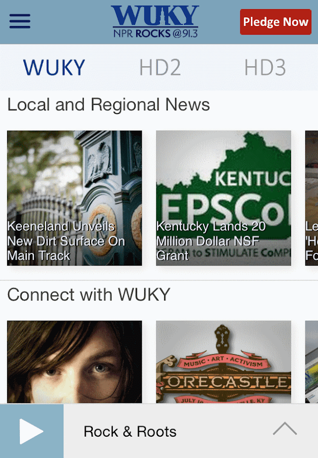 WUKY Public Radio App - screenshot