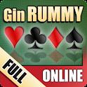 Gin Rummy Online FULL logo