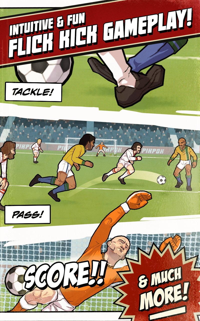 Flick Kick Football Legends screenshot #12