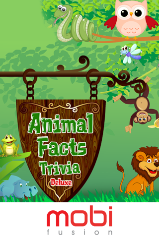 Animal Facts Trivia Deluxe