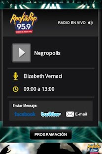 Rock&Pop 95.9 - screenshot thumbnail