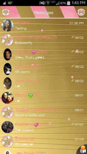 Pretty Girl Go SMS