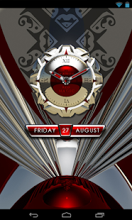 玩生活App|clock widget RED MAGIC免費|APP試玩