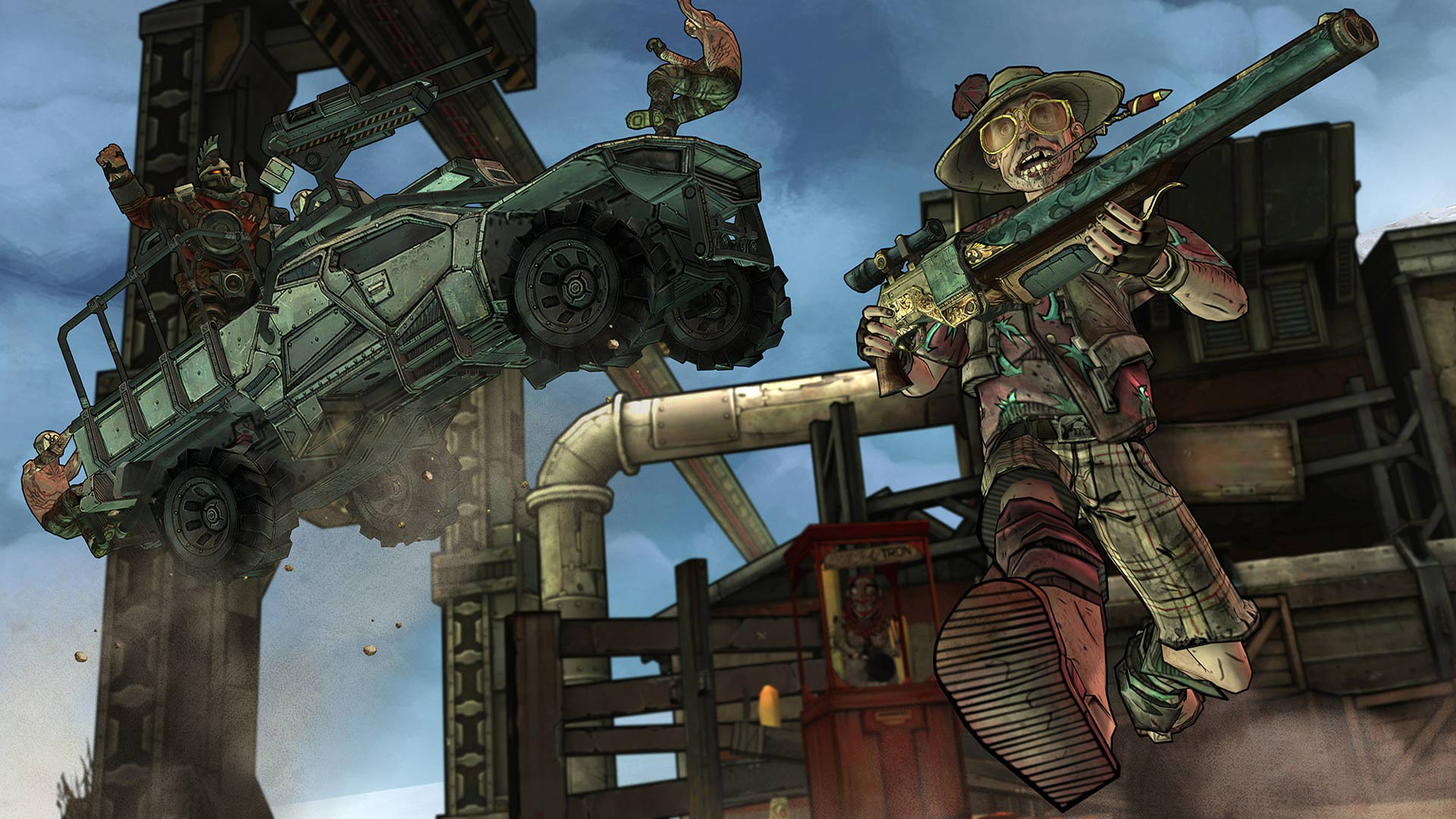 Tales from the Borderlands screenshot #4
