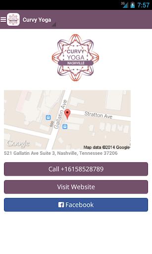 玩健康App|Curvy Yoga Nashville免費|APP試玩
