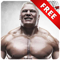 Brock Lesnar WWE HD Wallpaper logo