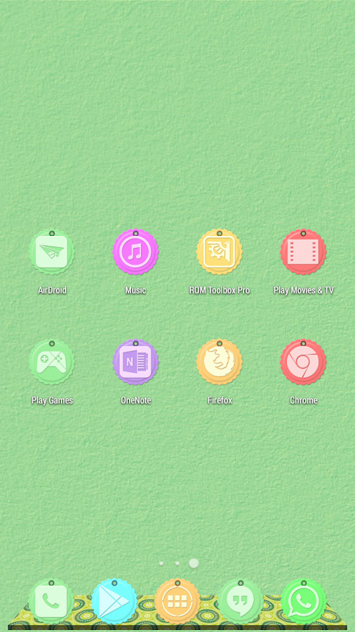Paper Tag 1310 Icon Pack Theme - screenshot