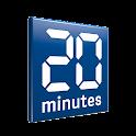 20 minutes mobile (français) logo