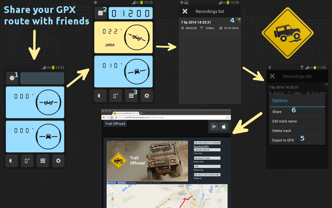 Trail Offroad - screenshot