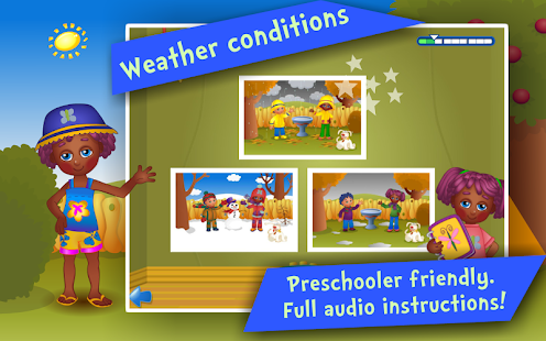 Seasons! Kids Learning games- screenshot thumbnail