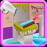 Wash Bathroom - Cleaning Games