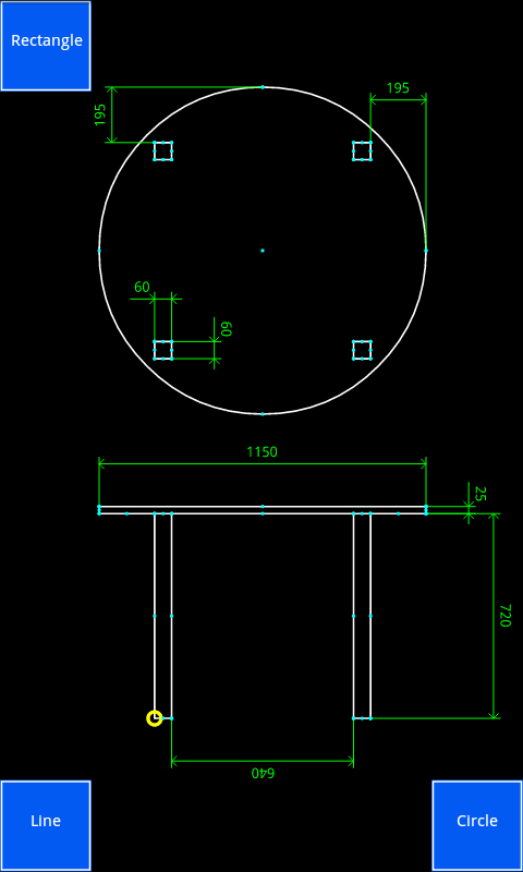 Inard CAD Pro– skärmdump