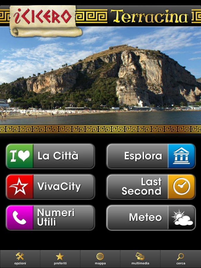 iCicero Terracina- screenshot