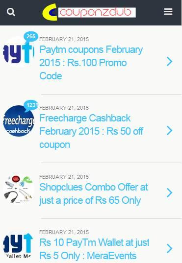 CouponZClub Shop & Save AdFree- screenshot