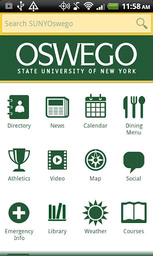 SUNY Oswego Mobile