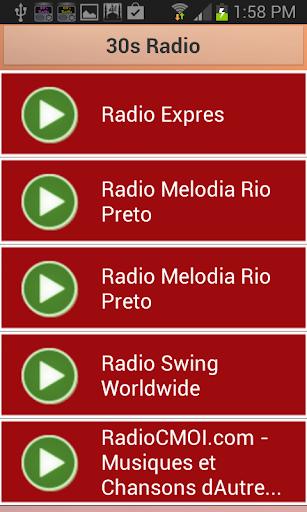 30s Radio