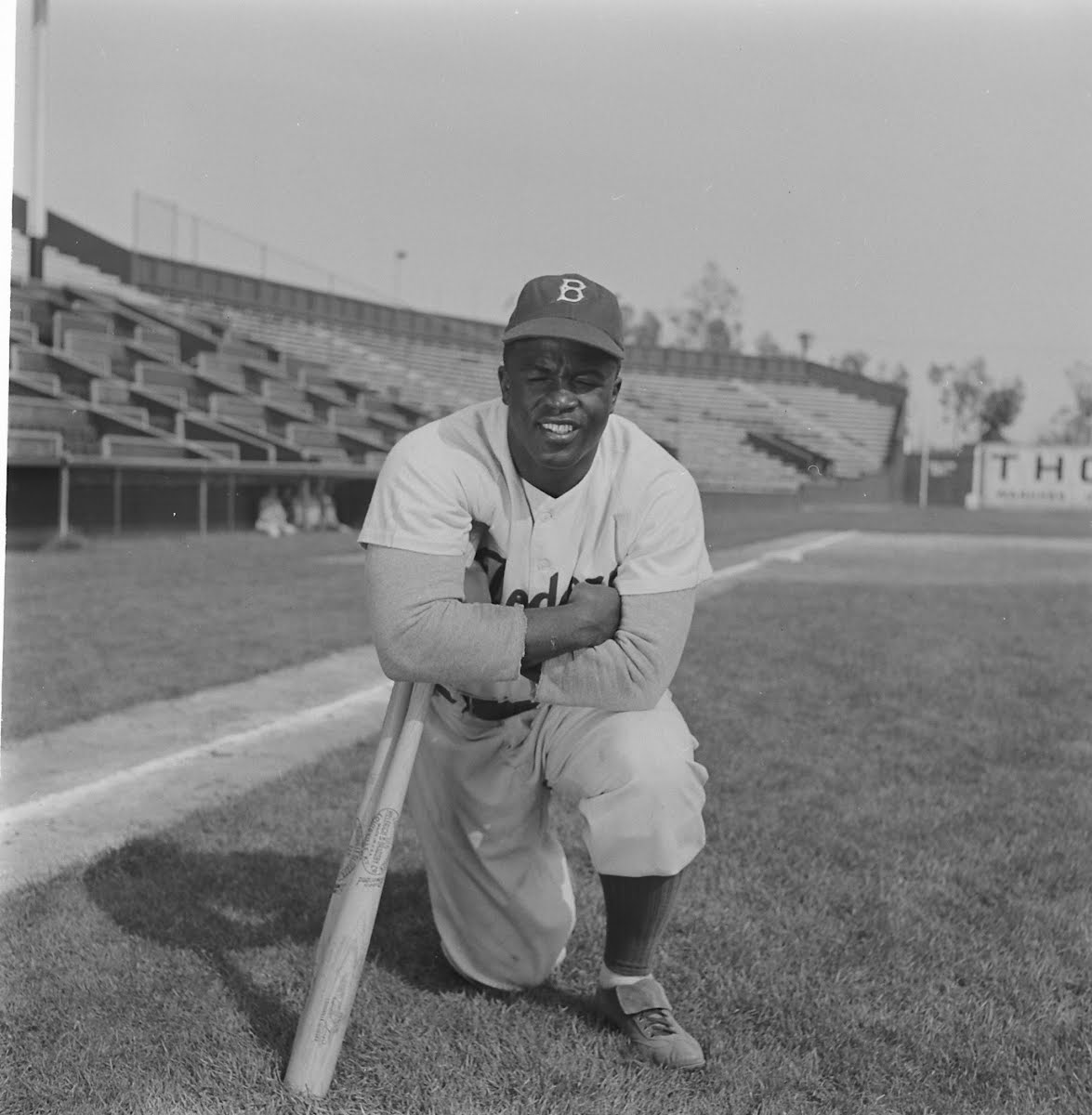 a biography of jack jackie roosevelt robinson the first african american to play in major league bas